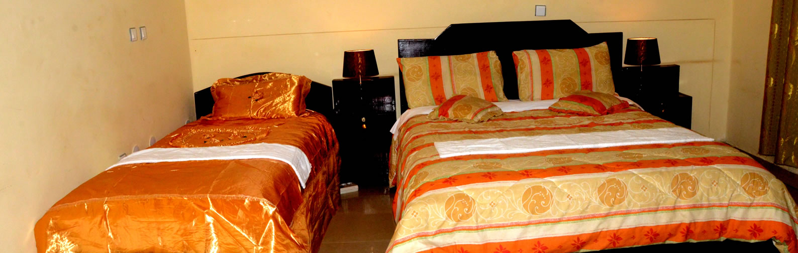 NGG Hotel Large Twins Bed Room